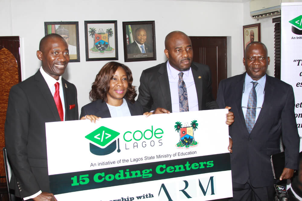 ARM Partners Lagos State Ministry of Education #CodeLagos Initiative